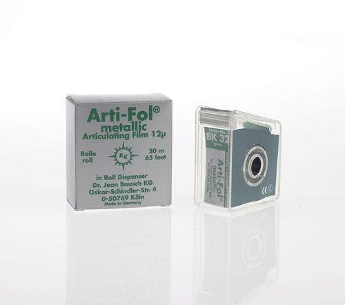 Arti-Fol® metallic, 12 µ, grün, Spender, 22 mm x 20 m
